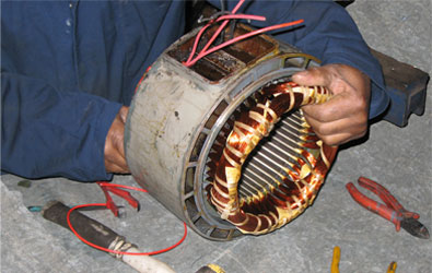 Small Electric Motor Rewinding Supplies